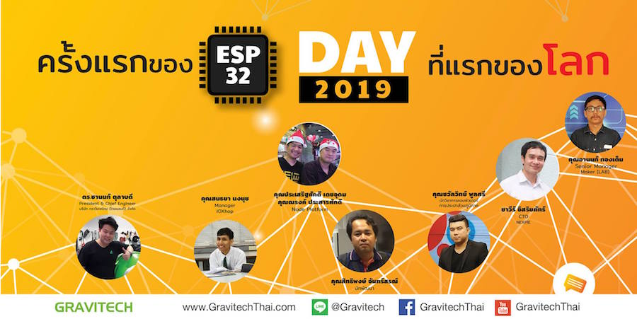 ESP32 one-day event
