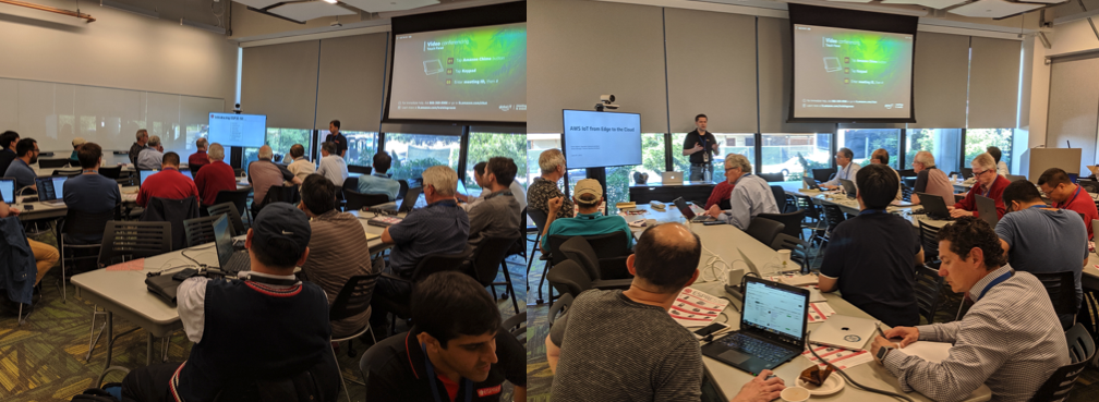 AWS and Espressif's Workshop in the USA | Espressif Systems