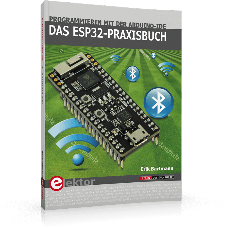 New Book on ESP32 by Best-Selling Author Erik Bartmann