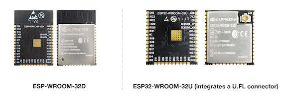 ESP32-based modules