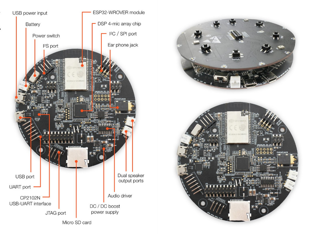 New Audio Development Board by Espressif | Espressif Systems